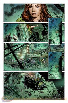Avengers Assemble #14AU. Art & cover by Butch Guice.