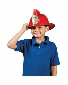 Small World Toys Activity (Fireman Helmet w Siren & LED) 8 by Small World Toys. $9.89. From the Manufacturer                Realistic Fireman's helmet with flashing light and siren sound! Adjustable head strap ensures proper fit. 2 LR44 button cell batteries required. Demo batteries included. Age 3 and up.                                    Product Description                Realistic Fireman's helmet with flashing light and siren sound! Adjustable head strap ensures prope...