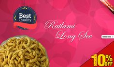 FREE HOME DELIVERY ALL INDIA  #Ratlamitadka provides the best offer for you #Upto 10 % off Ratlami long SEV @@@@@@@ Shop Now ▶ http://www.ratlamitadka.com/