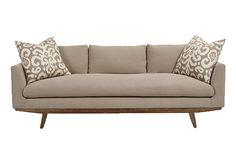 "rden Sofa, Oatmeal on OneKingsLane.com 1999.00 75 x 39D x 29h, seat H = 18"""