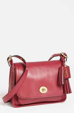 COACH  Legacy Archival Rambler  Leather Crossbody Bag, Small available at   Nordstrom Coach a70e2f2cc9