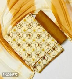 Stylish Copper Soft Cotton Dress Material with Dupatta from Stf Store Banarasi Suit, Juicy Couture Bracelet, Ethnic Gown, Best Budget, Online Boutiques, Cotton Dresses, Designer Dresses, Jewelry Design, Copper