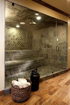 How Much Does an Infrared Sauna Cost? Steam Room Shower, Steam Showers Bathroom, Small Bathroom, Master Bathroom, Glass Showers, Bathroom Ideas, Home Steam Room, Sauna Steam Room, Sauna Room