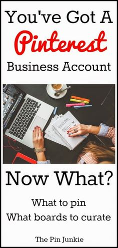Pinterest Business Accounts