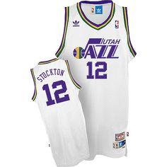 766017946fb His Jersey for the game...Adidas Utah Jazz John Stockton Soul Swingman Home