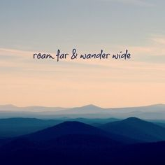 """Travel Discover Marmont Hill N/A 32 Inch x 32 Inch """"Roam Far & Wander Wide"""" Giclee Art Print on Stretched Canvas by Robin Delean New Adventure Quotes, Best Travel Quotes, Travel Advice, Adventure Travel, Quotes About Travel, Travel Divas, Life Quotes Love, Quotes To Live By, Wander Quotes"""