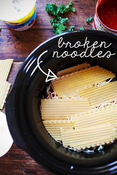 Veggie Crock Pot Lasagna | 21 Crock Pot Dump Dinners With No Meat