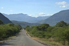 Tanzam Highway through the mountain jungles between Dar es Salaam and Iringa.  ©2009 Randy Haglund