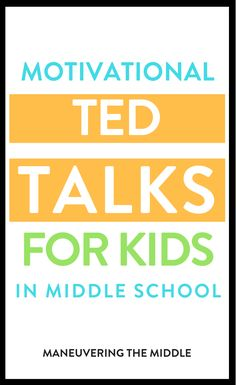 My favorite math ted talks for students!  | maneuveringthemiddle.com