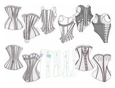 Free Historical Costume Patterns including petticoats and a free printable circle pattern for cutting circle skirts.