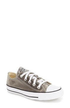 Free shipping and returns on Converse Chuck Taylor® All Star® 'Ox' Metallic Low Top Sneaker (Women) at Nordstrom.com. A metallic sheen updates a classic low-top sneaker that carries the athletic DNA of the very first Chuck Taylors produced in 1917.