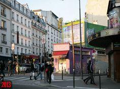 Rue Puget - Rue Lepic - Paris XVIIIe en 2013