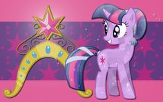crystal twilight - my-little-pony-friendship-is-magic Wallpaper