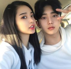 Find images and videos about couple, korean and asian on We Heart It - the app to get lost in what you love. Cute Korean Girl, Asian Cute, Cute Couples Goals, Couples In Love, Ulzzang Couple, Ulzzang Girl, Couple Goals Tumblr, Korean Best Friends, Korean People