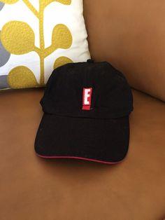 E! Entertainment Channel Network Black Red Logo Television Baseball Hat Cap   fashion  clothing c5dfb211d42e