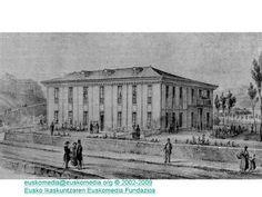Casa de Misericordia del barrio de San Martín. Circa 1841