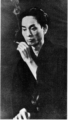 Yasunari Kawabata (born in 1899; d.1972), the first Japanese writer to win Nobel prize for literature, in 1968.
