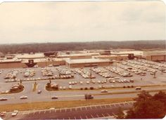 The outside of Springfield Mall. Springfield Virginia, Fairfax County, Falls Church, Northern Virginia, Back In The Day, Alexandria, Old Pictures, Paris Skyline, Dolores Park
