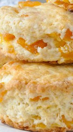 Apricot Coconut Scones - tender scones with great coconut flavour and sweet chunks of apricot baked right in. A dainty, delicious addition to afternoon tea. Brunch Recipes, Sweet Recipes, Breakfast Recipes, Dessert Recipes, Breakfast Scones, Rock Recipes, Fruit Scones, Lemon Scones, Savory Scones