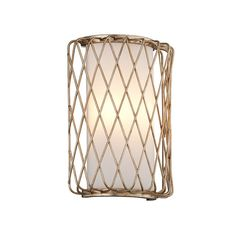 Check out Iron Basket Weave LED Sconce from Shades of Light