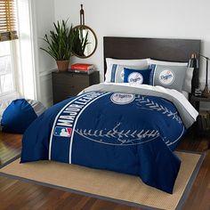 boys room?: MLB Los Angeles Dodgers Embroidered Comforter Set