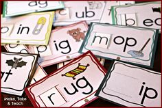 3 freebies for teaching and practicing short vowels and cvc words Phonics Reading, Teaching Reading, Reading Comprehension, Reading Help, Reading Games, Reading Resources, Reading Strategies, Reading Activities, Teaching Ideas