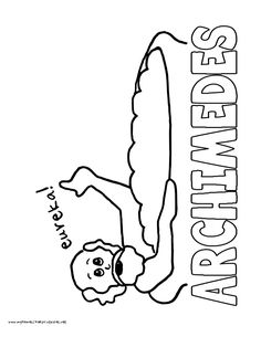 World History Coloring Pages Printables Archimedes HistoryQuick PrintColoring