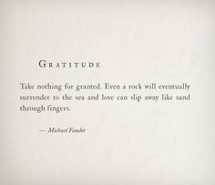 lovequotesrus:  Gratitude by Michael Faudet Follow him here