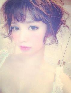 黒瀧まりあ Gyaru Doll lookbook big eye DOLL makeup