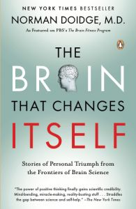 Psychological Trauma & the Brain: Interview w/ Kim Shilson. Neuroplasticity refers to the brain's ability to reorganize itself through new connections & brain growth.  Awareness of this potential provides a sense of hope to individuals suffering from post-traumatic sequelae as well as their treatment providers. Treatment that considers the brain's neuroplasticity can, in a sense, reverse the effects of trauma.  A great book on neuroplasticity is:  The Brain That Changes Itself, by Norman…