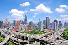 Multi-Level Stack Interchange | Shanghai | Brady Fang