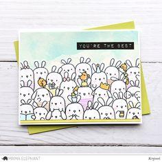 mama elephant | design blog: INTRODUCING: The Bunny's Hop