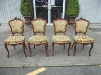 victorian dining chairs designs
