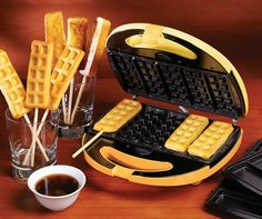 Waffle and French Toast Sticks Breakfast Treats Maker