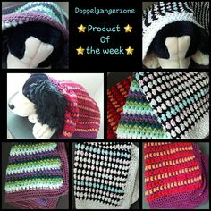 #product of the #week #Doppelgangerzone #babyshower #babyblanket #handmade
