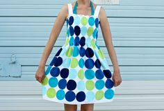 Beach towel dress: Use finished edges of a thin towel for the top and bottom seam, shir the bodice and sew one side seam and straps.