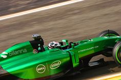 2014 CATERHAM-RENAULT CT05 ANDRE LOTTERER @ RIVAGE CORNER