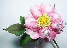 Мастер-класс изготовления розы сорта Ар Нуво из фоамирана, поэтапные фото