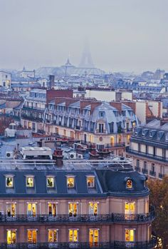 Paris in November