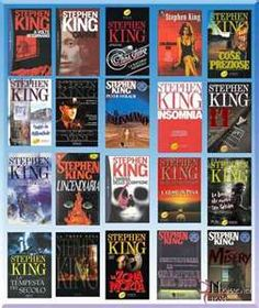 Old school Stephen King books and yes I have pretty much read them all...love the sci fi and horror genre
