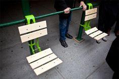 Pop-Up Parks: Brackets Turn Scaffolding into Furniture | Urbanist