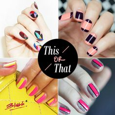 Which of these artistic nail trend are you wanting to sport to brighten up the gloomy monsoon days?