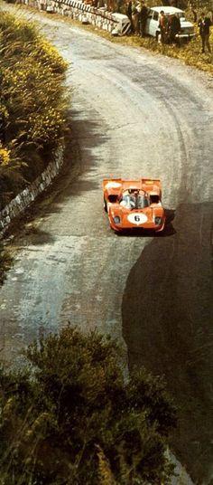 luimartins:  Ferrari 512 at the 1970 Targa Florio