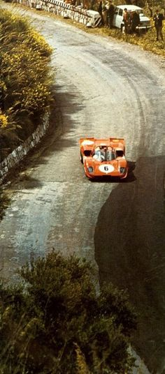 Ferrari 512 at the 1970 Targa Florio