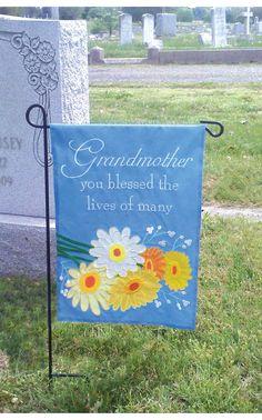 Decorative Cemetery Flag