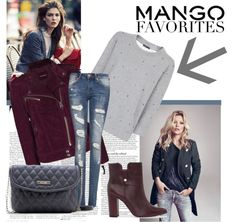 """Winter Aesthetic with Mango and That's Chic"" by kekek ❤ liked on Polyvore"