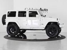 White Jeep Wrangler Sahara 2 Door | Five Cars daddy of all daddies! im in love.
