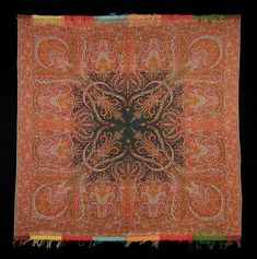 Scottish wool shawl, 1848. | The Met