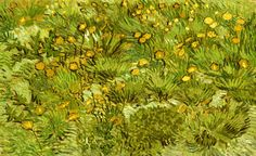 A Field of Yellow Flowers - Vincent van Gogh high quality hand-painted oil painting reproduction,flower landscape fine art,living room wall art canvas Winterthur, Vincent Van Gogh, Van Gogh Art, Art Van, Theo Van Gogh, Clark Art, Van Gogh Paintings, Flower Paintings, Flower Landscape