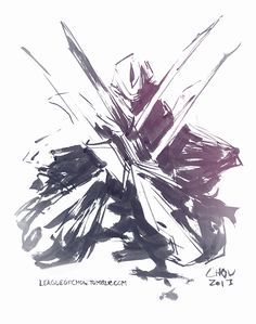 Zed, the Master of Shadows (October 15th, 2013) by Gaius-Draws.deviantart.com on @deviantART